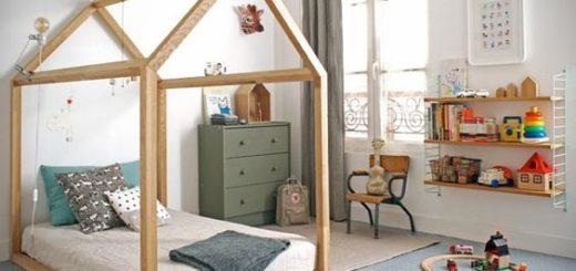 chambre montessori-enfant